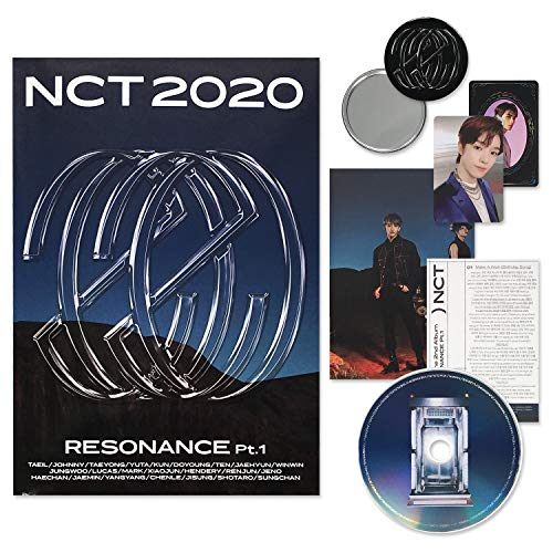 NCT 2020 Album - RESONANCE Pt.1 [ THE PAST ver. ] CD + Photobook + Lyrics Poster + Folded Poster(On pack) + Photo Card + Yearbook Card + FREE GIFT