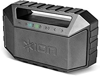 ION Audio Plunge | Waterproof Stereo Boombox with Bluetooth, Built-in Microphone &..