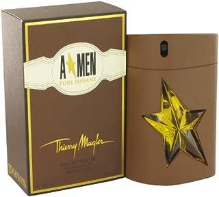 Thiērry Mūgler Angēl Purē Havanē Còlogne For Men 3.4 oz Eau De Toilette Spray