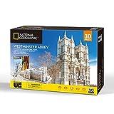 University Games 7685 National Geographic Abbey - Puzle 3D, Multicolor