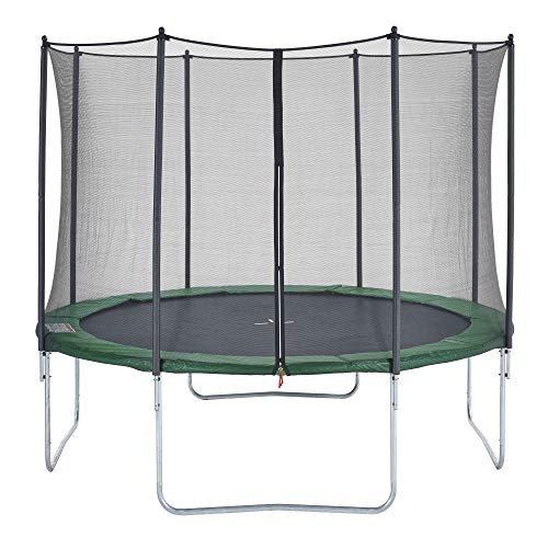 CZON SPORTS - Cama elástica infantil, 360 cm (verde)