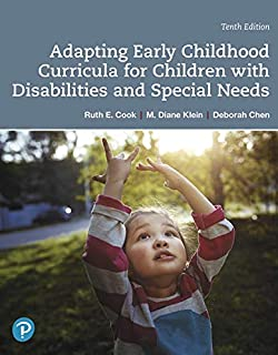 Adapting Early Childhood Curricula for Children with Disabilities and Special Needs (0135204453)   Amazon price tracker / tracking, Amazon price history charts, Amazon price watches, Amazon price drop alerts