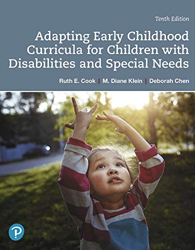 Compare Textbook Prices for Adapting Early Childhood Curricula for Children with Special Needs Plus Pearson eText -- Access Card Package  Myeducationlab 10 Edition ISBN 9780135204375 by Cook, Ruth E.,Klein, M. Diane,Chen, Deborah