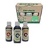 BioBizz - Kit de Iniciación de Fertilizantes para Plantas al Aire Libre, Mezcla de Peces orgánicos biológicos