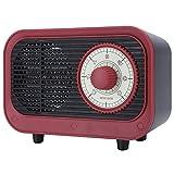 Calefactor 500w Portátil Calentador Eléctrico Retro Oficina Inicio Oficina Escritorio Cálido Aire Soplador UE Enchufe 220v