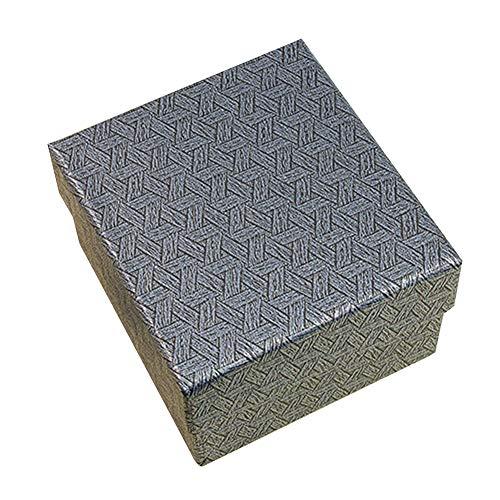 FINIVE Caja De Joyería Cuadrada Elegante Pulsera Caja De Almacenamiento De Reloj Soporte De Exhibición De Joyería Caja De Almacenamiento Caja De Regalo para Mujeres Hombres 2#