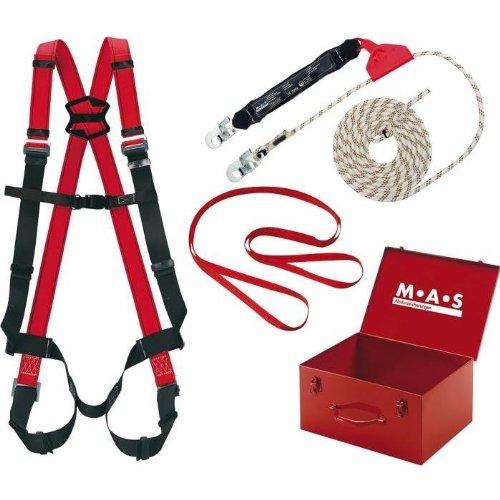 MAS Absturz-Sicherheits-Set 4 teilig nach EN 363 - Größe 1 (48-56) - Zugelassen bis 136 kg