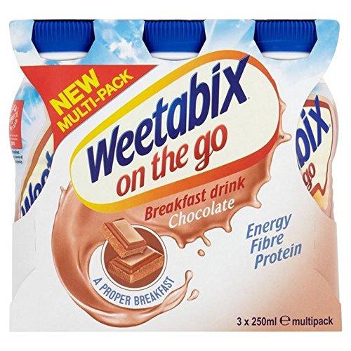 Weetabix Sulla Colazione Bevanda Go Cioccolato 3 X 250Ml