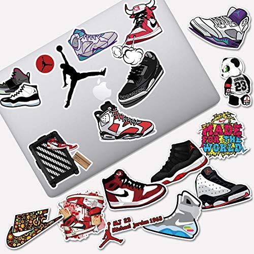 aj Jordan schoenen getij merk persoonlijkheid koelkast snowboard laptop helm ipad bagage waterdichte sticker 19 STKS