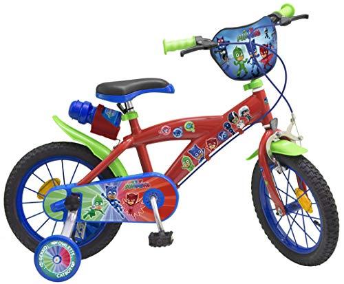 Toimsa Bicicletta 14' PJ Masks 4-6 Anni, 1404, Multicolore