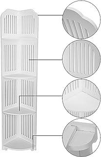 Iusun 4段 バスルーム 収納棚 吸盤 コーナーシェルフ オーガナイザー バスルーム キャディ シャワーキャディー 防錆 バスオーガナイザー 棚 本棚 ディスプレイ キッチン ストレージ ラック ホルダー