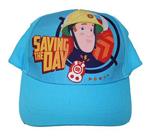Feuerwehrmann Sam Jóvenes Gorra Sombrero Gorra Azul Claro