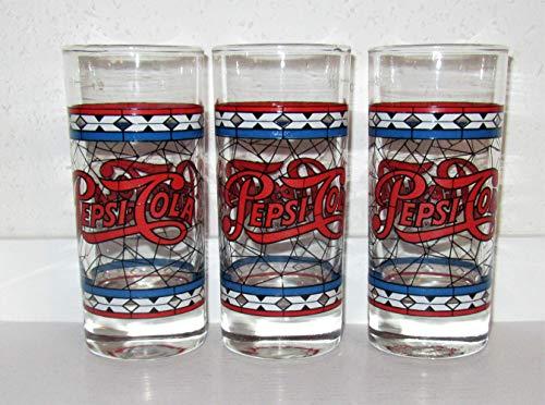 Pepsi-Cola/Lot de 5 Verres rétro Vintage 0,3 l