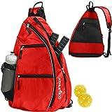 Athletico Sling Bag - Crossbody Backpack for Pickleball, Tennis, Racketball, and...