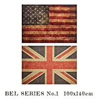 ラグ BEL RUG NO.1 100x140 ラグ 絨毯 じゅうたん カーペット TypeB