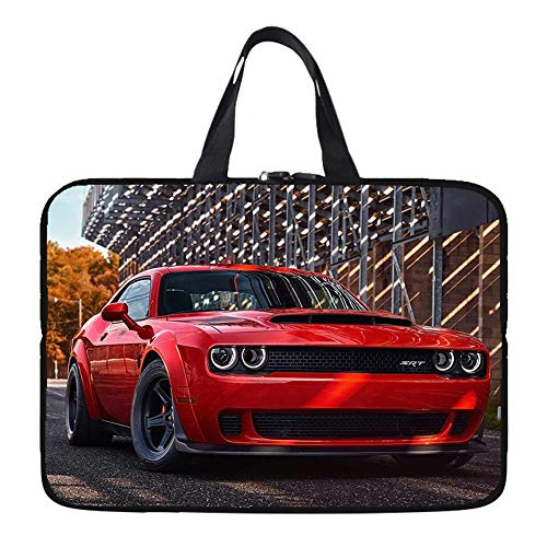 Anime pattern Laptop Sleeve, Neoprene Elegent Protective Notebook Bag Briefcase Cover Carrying Case MacBook Air, MacBook Pro, Tablet PC-Sports car_10-inch