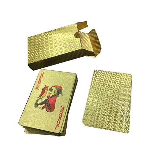 EmNarsissus - Pokersets in Golden, Größe goldener Gittertyp