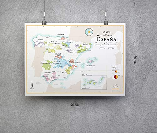 Mapa de los vinos de España