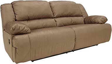 Signature Design by Ashley Hogan 2-Seat Reclining Sofa Mocha