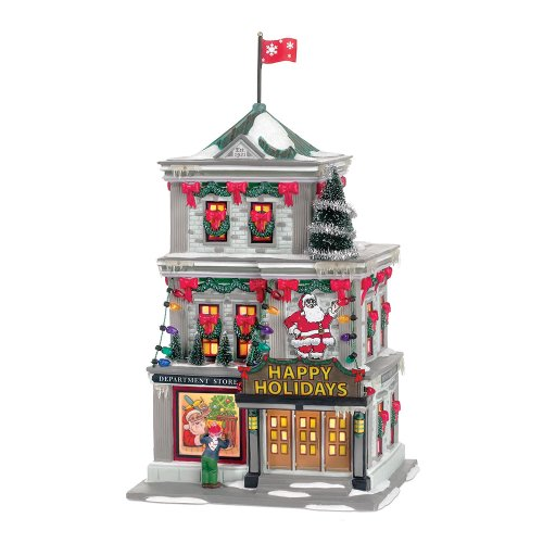 Department 56 A Christmas Story Village Happy Holiday Department Store Lit Building