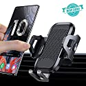 AHK Handyhalter fürs Auto Lüftung Handyhalterung Universal Smartphone Halterung KFZ für Alle iPhone 11 Pro XS Max XR X 8 7 6 Plus, Samsung S10 S9 S8 S7, Huawei Mate30 P30 Pro
