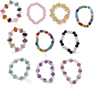 D DOLITY 10 Pieces 18'' Doll Bracelets Set Jewelry Accessories for American Doll Our Generation My Life Dolls