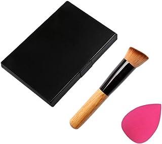 Brocha de maquillaje,YanHoo♛15 colores maquillaje corrector contorno paleta + agua esponja puff