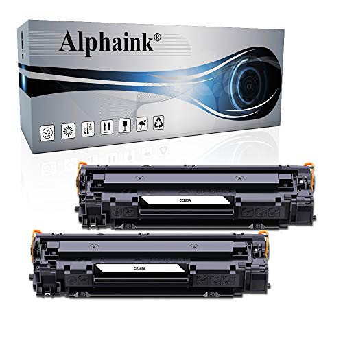 Alphaink 2 Toner Compatibili con HP CE285A 85A per stampanti HP LaserJet Pro P1102 P1102W M1212NF M1132 MFP M1217NFW M1132 M1212 M1130 P1100 M1136 M1210 M1210MFP M1134MFP M1134