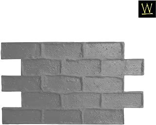 Capone Cobble Concrete Stamp Single by Walttools   Vintage Cobblestone Brick Pattern, Sturdy Polyurethane Texturing Mat, Decorative Realistic Detail (Floppy/Flex)