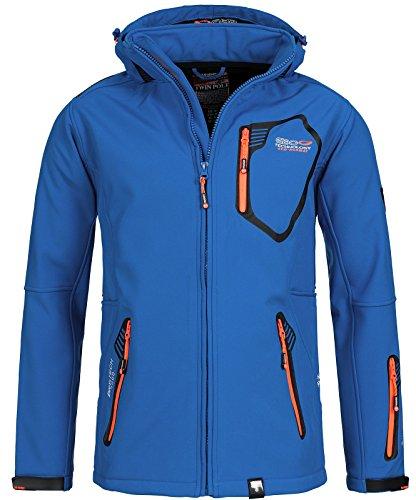 Geographical Norway - Giacca - Uomo Blu / arancione L