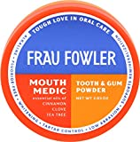 Frau Fowler Tooth Powder and eoFLOSS  Value Pack in Mouth Medic for remineralizing and whitening teeth 2oz / 55 yards