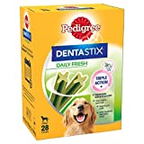 Pedigree Dentastix - Fresh Daily Dental Chews Large Dog, 112 Sticks - 4 x 1.08 kg