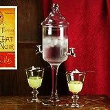 Glass Fuente Absenta - 1.2ltr Fuente Absinthe para preparar y servir Absinthe
