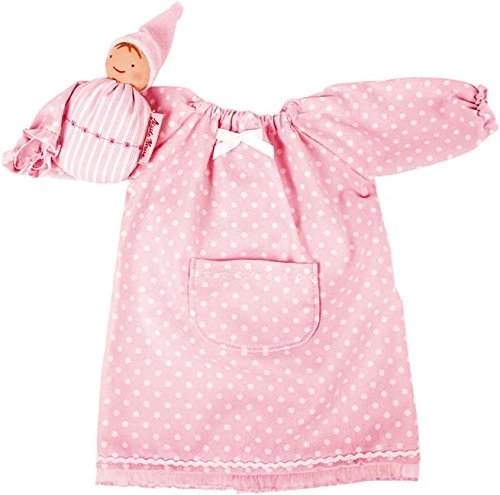 Käthe Kruse 38280 - Bekleidung Süße Träume 39-41 cm, grün/rosa