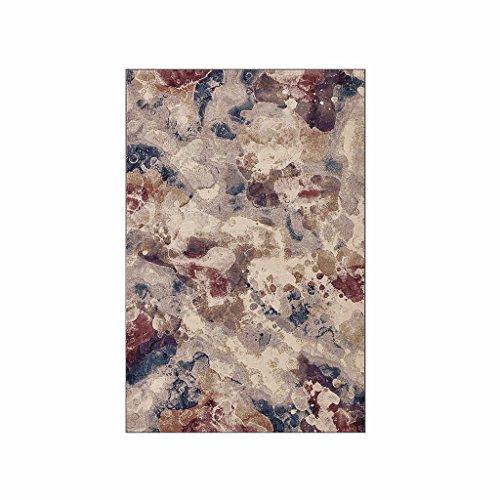 ZHHL Textil para el hogar romántico Belga Textura Estilo Alfombra, Moderno Simple...