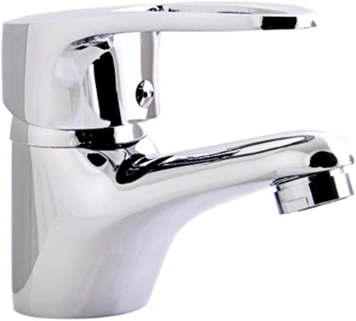 Taps Kitchen Basin Bathroom Washroombathroom Basin Faucet Mini Brass Vessel Sink Water Tap Chrome Finish Mixer Deck Mount Cold and Hot Water Taps