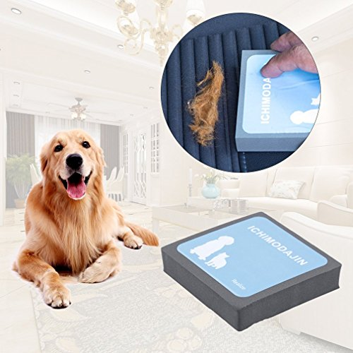 Gugutogo dispositivo di spazzola di époussetage di dispositivo di époussetage di dispositivo di depilazione pulito di capelli di pelo Collant per animali (colore: nero e blu)