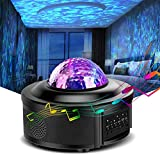 Galaxy Projector, Star Projector, Led Night Light, Lights for Bedroom, Starlight Projector,with Bluetooth Speaker, Can Remote Control Adjust Brightness, Suitable for Romantic Gifts.