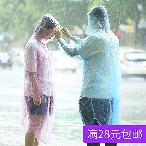 MMXXAIWWAA Reizen Wegwerp Regenjas Verdikking Volwassenen Kinderen Buiten Regenjas Reizen Mannen en Vrouwen Wegwerp Poncho