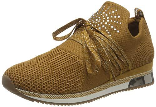 MARCO TOZZI 2-2-23738-35, Zapatillas Mujer, Mustard Comb, 36 EU