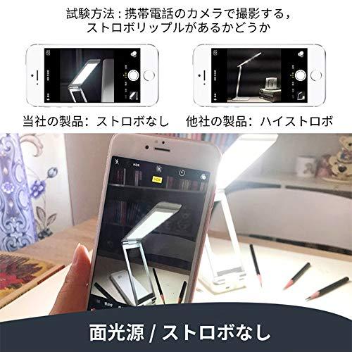 桜柄(さくら版)LEDデスクライトパワーバンク(2イン1)Micro-hertz電気スタンド4000mAh電池(最高輝度8時間,最低輝度48時間)5段階調光折りたたみ式スタンドライトUSB充電対応PC作業・仕事・寝室・勉強・旅行・防災・非常灯・読書灯収納&携帯が便利自然光目に優しい(ホワイト+桜の色)[並行輸入品]