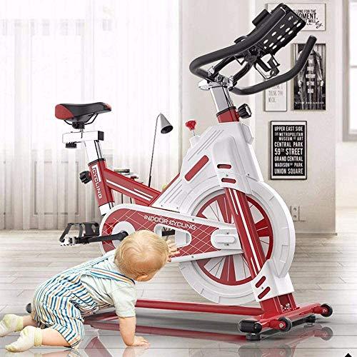 DEAR-JY Bicicletas estáticas Inteligentes,Profesional Bicicleta de Spinning Interior para Gimnasio en casa,Todo...