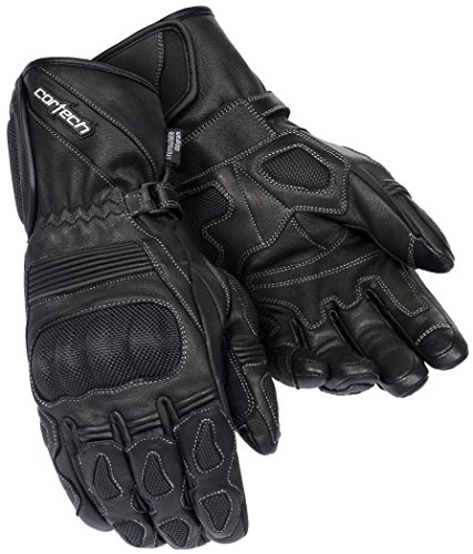 Cortech Men's Scarab 2.0 Winter Motorcycle Glove (Black, Large)