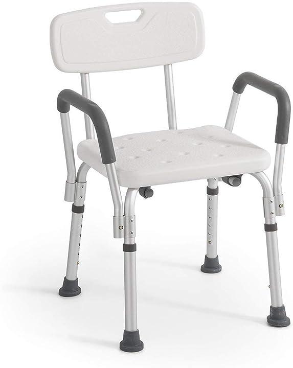 Sedia da doccia con schienale e braccioli estraibili anteamed 20034259