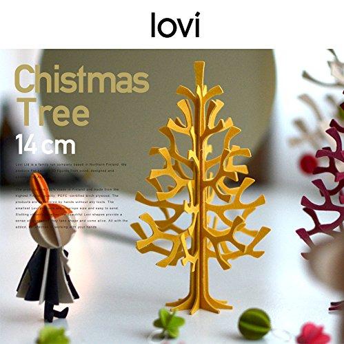 LOVI『momi-no-ki ミニクリスマスツリー 14cm (ライトグリーン)』