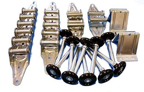 Garage Door Hinge & Roller Tune Up Kit for 16x7 or 18x7 nylon rollers