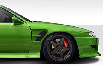 Extreme Dimensions Duraflex Replacement for 1997-1998 Nissan 240SX S14 Supercool Wide Body Front Fenders