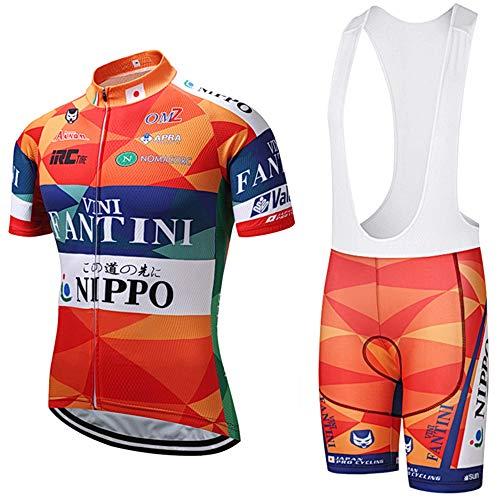 Conjunto Traje Ciclismo para Verano, Maillots Ciclismo Mangas Cortas y Culotte Pantalones...