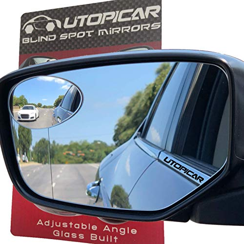 New Blind Spot Mirrors. Can be Installed Adjustable or Fixed. Car Mirror for Blind Side / Door...