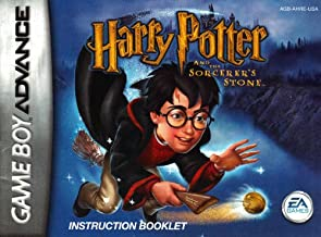 Harry Potter & The Sorcerer's Stone GBA Instruction Booklet (Game Boy Advance Manual Only)